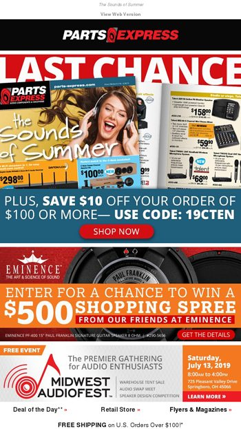 👀 Sneak Peek! Sound Solutions Magazine - Parts Express Email Archive