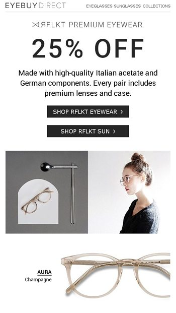 442b92901e3 Frames + Lenses + Case for ONE great price! - EyeBuyDirect Email Archive