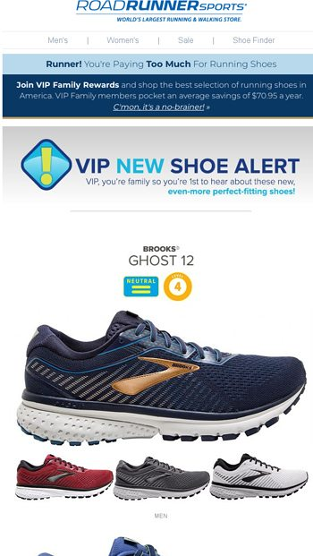 0a66bd2f4 Runner New Shoe Alert. Jun 28. Runner Your NEW VIP Runnerrsquos Outlet Is  Now Up amp Running