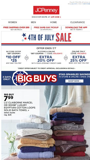 We like Big Buys and we cannot lie - JCPenney Email Archive