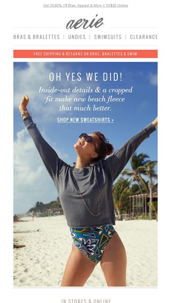 200 New Arrivals Aka Everything But The Beach Aerie Email Archive