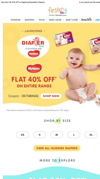 Firstcry Coupons for Diapers