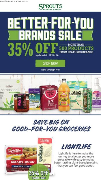 Save $10 Thursday Only—Details Inside! - Sprouts Farmers