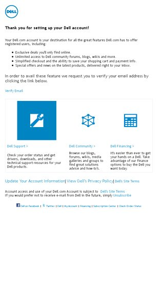 Email Verification - Dell   Annual Sale Email Archive