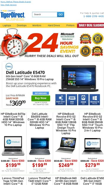 Time is Almost Up On These Deals! Core i5 Laptops From $199