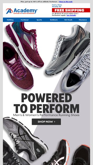 d1c9f5f79614 Academy Sports And Outdoors Running Shoes - Style Guru  Fashion ...