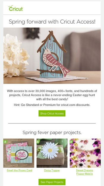 On Saturdays, We Craft! - Cricut Email Archive