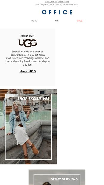 office shoe shop ugg in love with ugg office email archive