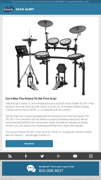 Don't Miss This Roland TD-25k Price Drop! - zZounds News