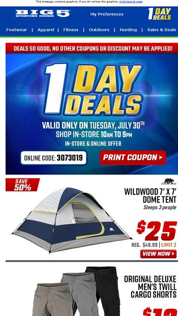$45 Z-Shade Odyssey 10' x 10' Instant Canopy + Other 1 Day Deals
