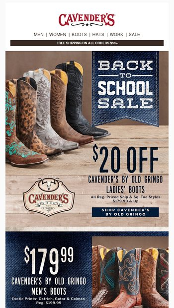 29196a2fd7c Don't buy boots or shoes before reading this! - Cavender's Email Archive