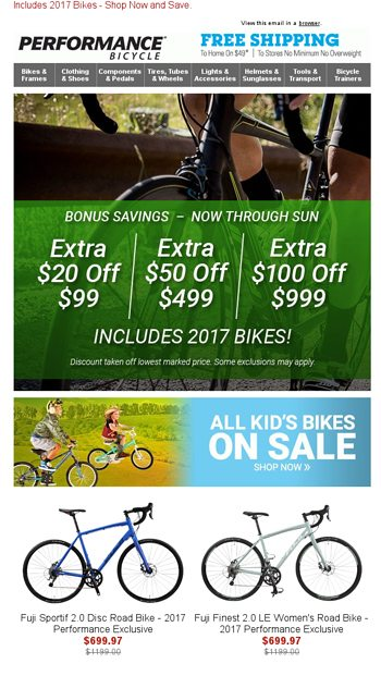 COUPON: Extra $20 Off $99 / $50 Off $499 / $100 Off $999