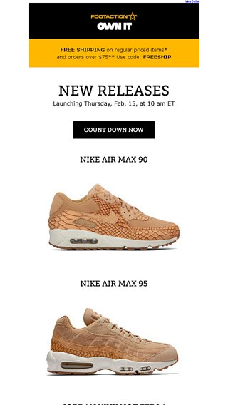 new style 41ddf fcef9 Nike Air Max 90 and 95 in vachetta tan – available tomorrow ...