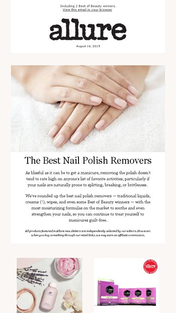 Nail Polish Removers That Won't Ruin Your Nails - allure
