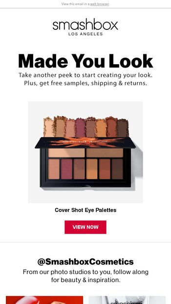 Interested in this? - Smashbox Cosmetics Email Archive