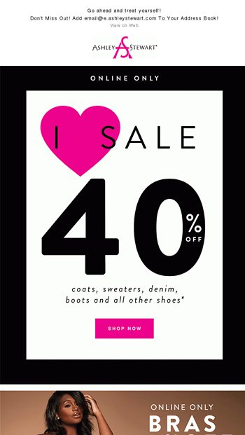 be9952c73a8 40% Off Fab Fall  Newness - Ashley Stewart Email Archive