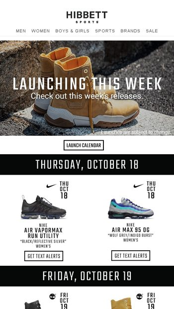 separation shoes 81608 85e1c New colorways for the Nike Air Max 95 OG   Vampormax Run Utility launch  soon! - Hibbett Sports Email Archive