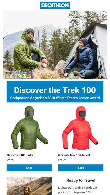 f0073c398d7 Just In: Our $45 Award-Winning Jacket - Decathlon USA Email Archive