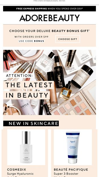 Choose TWO gifts from 12 Gifts Of Beauty ✨ - Adore Beauty