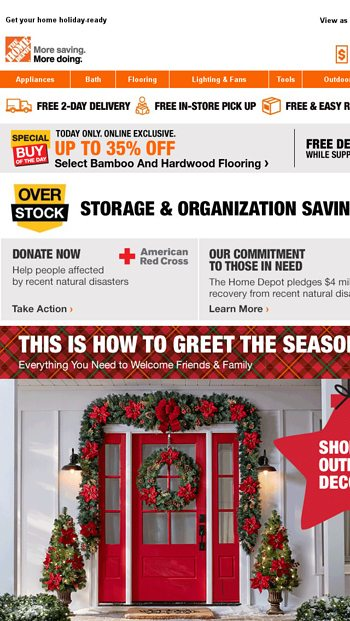 its startingnbspnbsptis the season to save - Is Home Depot Open On Christmas Day