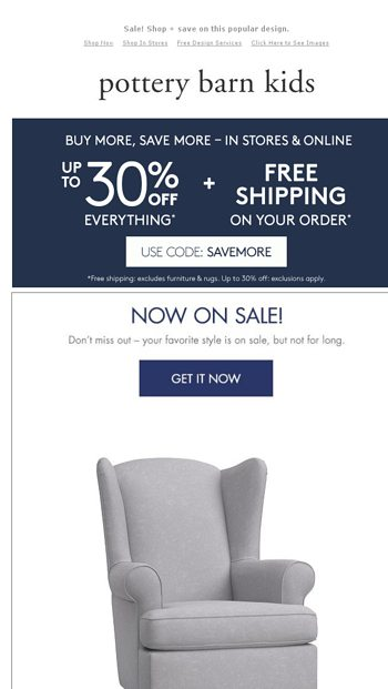 Incredible Three Words Back In Stock Pottery Barn Kids Email Archive Lamtechconsult Wood Chair Design Ideas Lamtechconsultcom