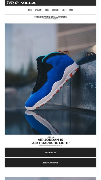 differently c979d b4bc8 JORDAN X TINKER 🔵 Now Available - DTLR Email Archive