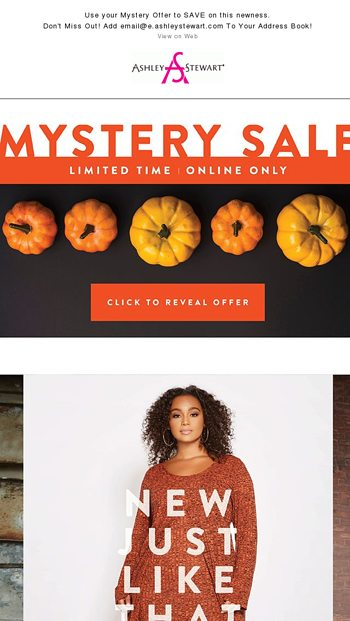 289b421873a1e FLASH SALE - Final Hours - (Up to Size 36) - Ashley Stewart Email ...