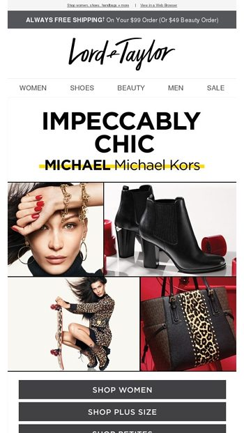 Oh-so-chic: MICHAEL Michael Kors - Lord