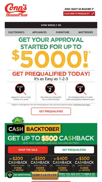 Prime Get Up To 500 Cashback Conns Homeplus Email Archive Lamtechconsult Wood Chair Design Ideas Lamtechconsultcom