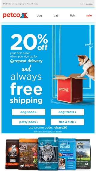 Revive Refresh And Get Ready For Spring Petco Email Archive