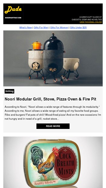 Noori Modular Grill Stove Pizza Oven Fire Pit Dude I Want That Email Archive