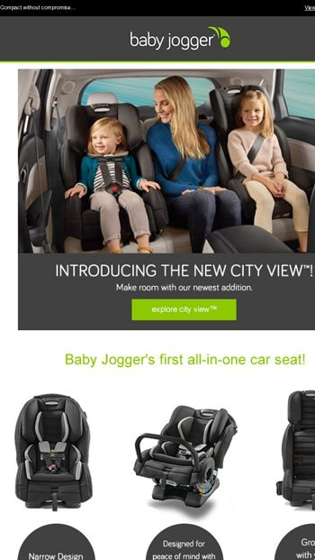 New More Baby Jogger Newsletters