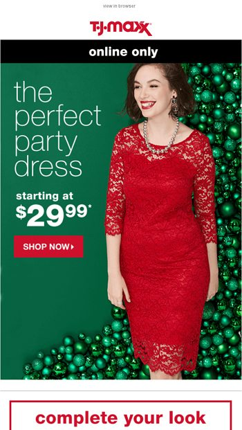 036d2f937cb0 New dresses from $29.99. - T.J.Maxx Email Archive