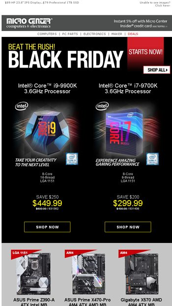 64 Samsung 500gb 860 Evo Ssd Why Wait Black Friday Prices Already Started Micro Center Email Archive