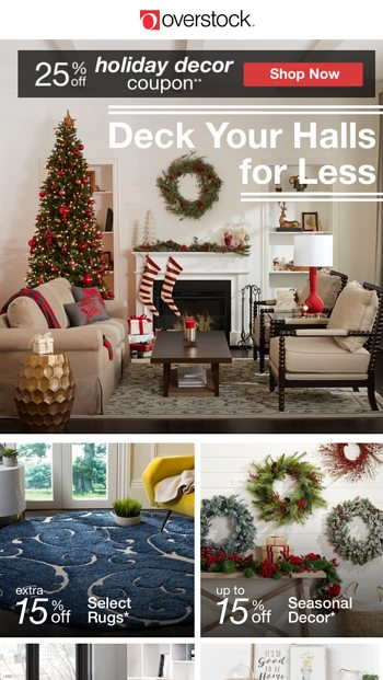 save big - Overstock Christmas Decorations