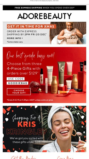 Kris Kringle Gifts Under $30 🎅 - Adore