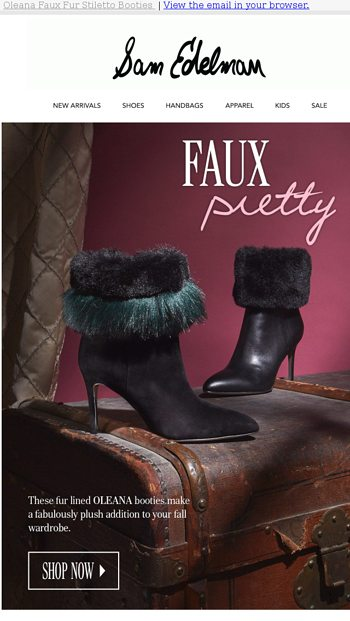 c5fcf3153dc1f These boots will make you plush - Sam Edelman Email Archive