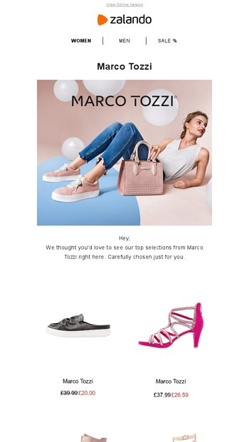competitive price ae98c 03d95 Don't miss Marco Tozzi on sale - Zalando Email Archive