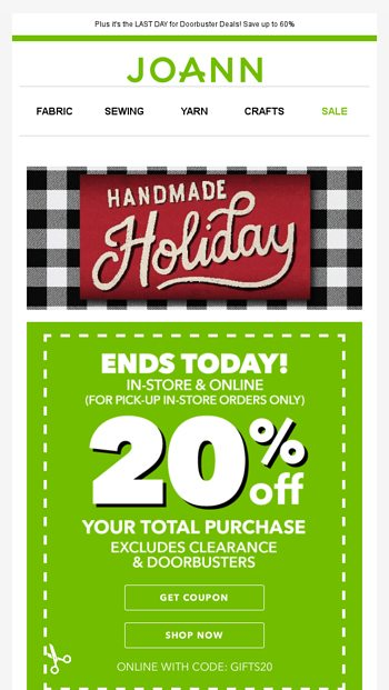 LAST DAY For This 40% Off Your Total Purchase JOANN Email Archive Magnificent Joann Rolling Sewing Machine Tote