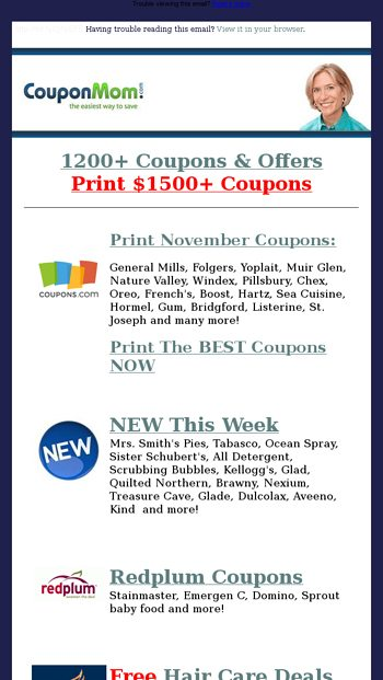 Preview Lists Ready Free Thanksgiving Groceries Rock Bottom Deals Coupon Mom Email Archive