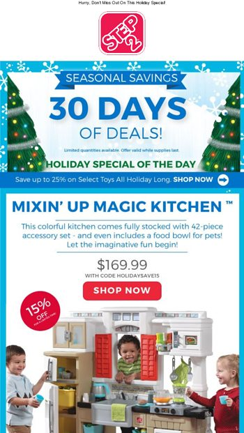 Day 12 Mixin Up Magic Kitchen Step2 Email Archive