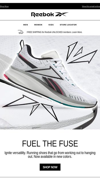 Fusium Run 2 0 New Colors Reebok Email Archive