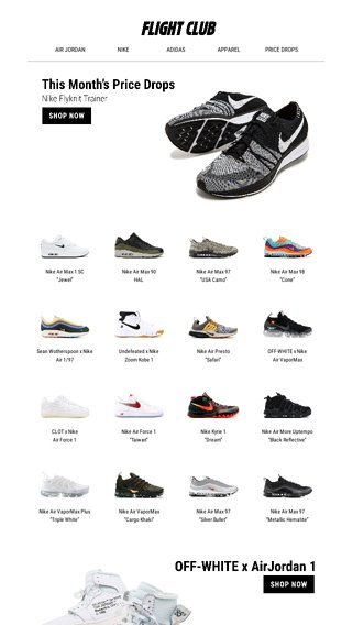 brand new 6681c 6535a April Price Drops - Flight Club Email Archive