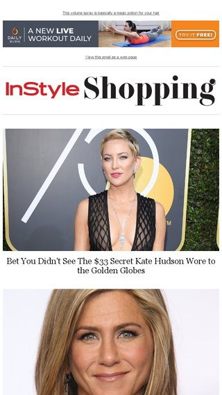 43984f99382a6 Kate Hudson wore this $33 secret to the Golden Globes - InStyle Email  Archive