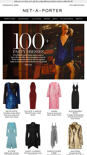 891720fe61ea The party dresses of the season - NET-A-PORTER Email Archive
