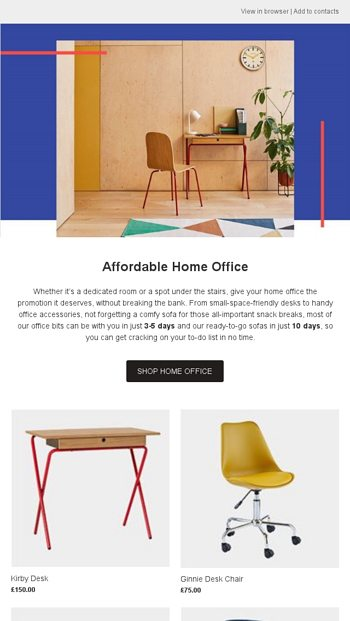 Working From Home Here S Our Affordable Office Edit Habitat Email Archive