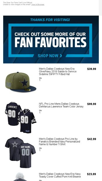 9d09fbcb3 More Gear You ll Love - NFLShop Email Archive