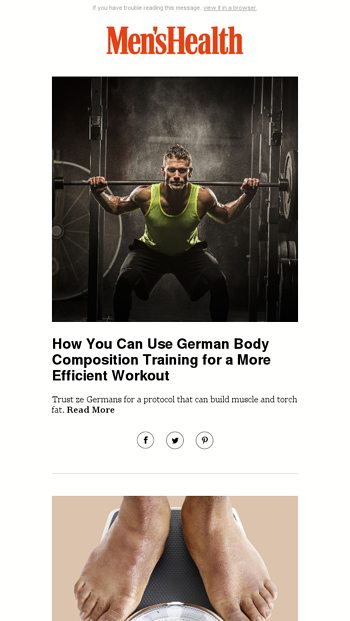 How You Can Use German Body Composition Training for a More