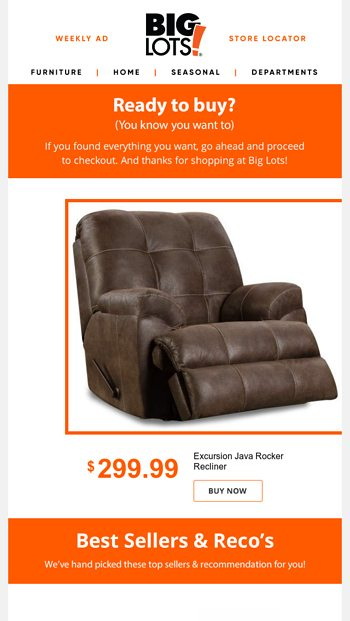 Where D You Go Ready To Checkout Big Lots Email Archive
