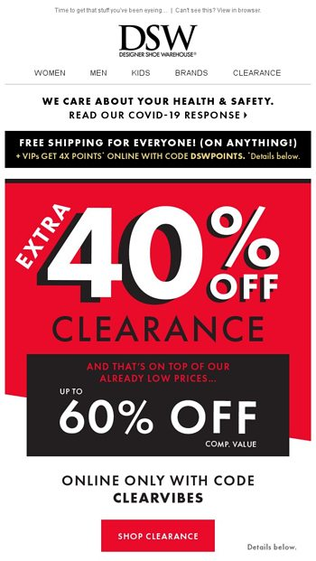 HUGE clearance deals + more ways to